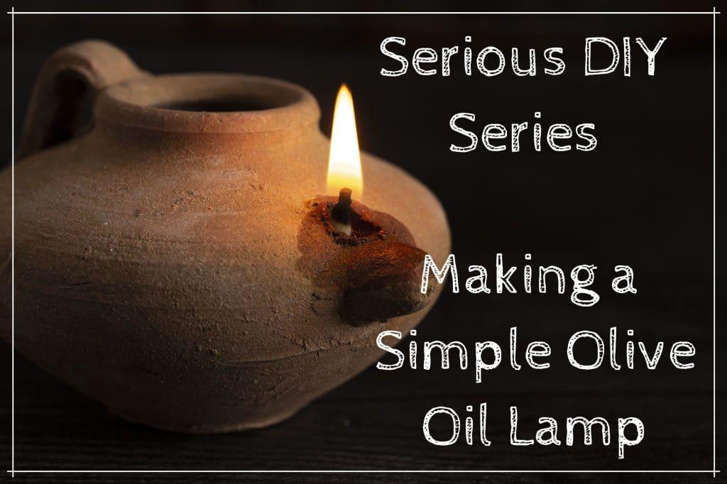 Make A Simple Oil Oil Lamp For Preparedness Lighting